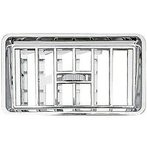 Freightliner Chrome Instrument Panel Vent with Bezel