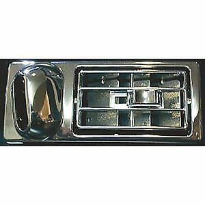 Kenworth Passenger Side Vent Fits Old and New, Chrome