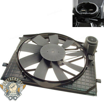 For Mercedes-Benz Radiator Cooling Fan & Motor CL500 CL55 S430 S500 2205000093