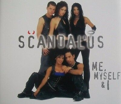 Scandal'Us Me, Myself & I CD Single 2001 RNB Mix Karaoke Mix Startin' Somethin'
