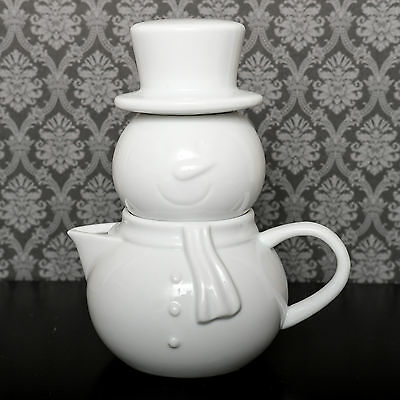 Snowman cream and sugar set [Brand New Unused]