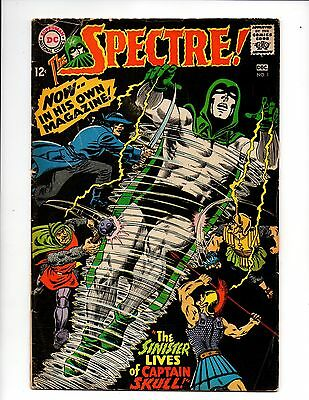 THE SPECTRE #1 1st Series DC Comics Murphy Anderson 1967 VG