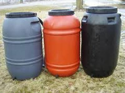 Barrel Drums(@ less than $15 Each,Water Tank, Sales Lot of 9 drums For $130 Melb