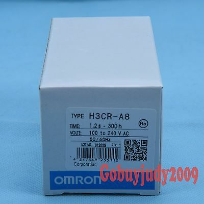 NEW IN BOX OMRON Timer H3CR-A8 ( H3CRA8 ) 100-240VAC / 100-125VDC