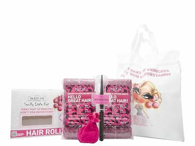 Sleep In Rollers Scruffy Little Cat- Hello Great Hair! Hair Care Gift Set New