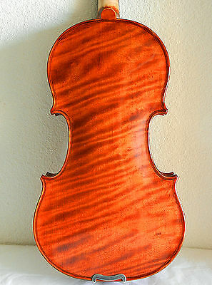 "NEW*** 13"" One Piece Back Viola, Prelude Strings + French Bridge, READY to PLAY!"