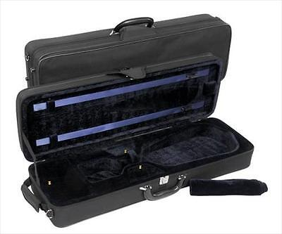 Jakob Winter JWC 360 4/4 Oblong Violin Case Black/Blue **NEW**