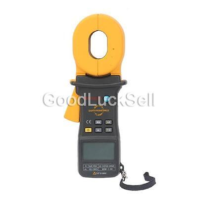 Mastech MS2301S 0.01-200ohm Earth Resistance Clamp Meter 0.01 Accuracy + AL CASE