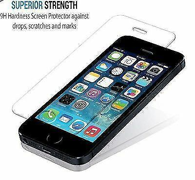 New Premium iPhone SE Screen Protector Tempered Glass iPhone 5s 5 Shock Proof