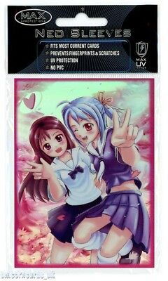 Max Protection Neo Sleeves For Pokemon/MTG Cards :: School Girls :: Pkt 50