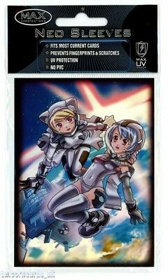 Max Protection Neo Sleeves For Pokemon/MTG Cards :: Space Girls :: Pkt 50