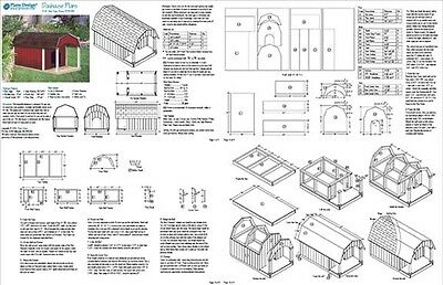 Large Dog House Plans Gable Roof Style Doghouse 90304G Pet Size