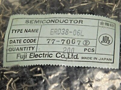 ERD38-06L / SUPER FAST RECOVERY DIODE / 200 PIECES (qzty)