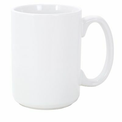36 15-ounce Grade A Coated Sublimation Mugs Blank White 15oz