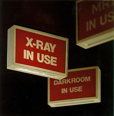 "NEW AMD ""X-Ray In Use"" Lighted Info Sign with LED lamps (900XR-LED)"