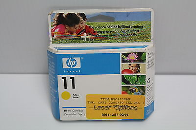 HP 11 C4838AN Yellow Ink Cartridge