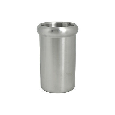 6x Wine Cooler Satin Finish 135mm Insulated Stainless Steel Chiller Bucket NEW