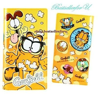 120 Case Garfield Cat ID Credit Business Card Holder Name Book Wallet Bag Purse