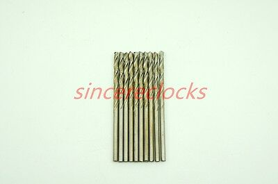 10 pcs per lot for Drill Tools For Watchmaker Precision Lathe