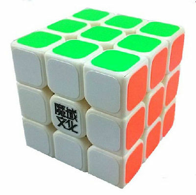New 3x3x3 Ultra-smooth Twist Speed Magic Cube Puzzle Racing White