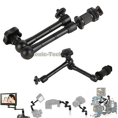 Articulating 11'' Friction Adjustable Magic Arm For DSLR LCD Monitor LED Light