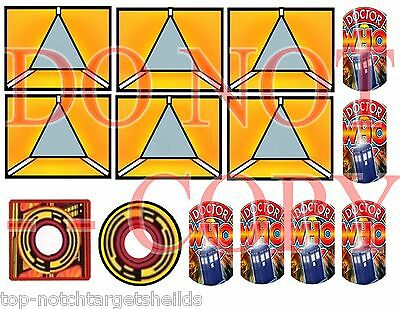 DR.WHO Pinball Mod Target Cushioned Decals