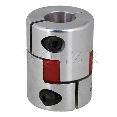 Anti-oil 14x14mm Aluminum CNC Plum Coupling Flexible Shaft Coupler D30L40