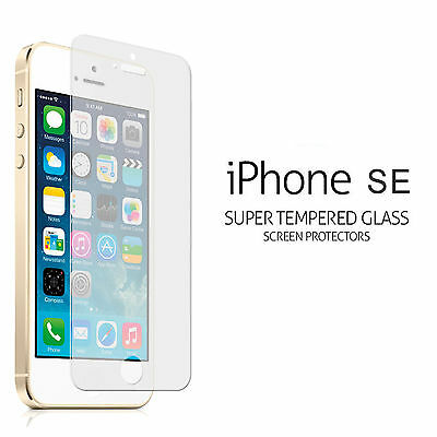 For Apple IPhone SE .45mm Tempered Shatterproof Glass Screen Cover Protector