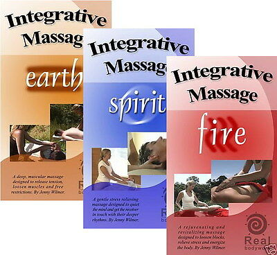 Integrative Swedish Massage 3 DVD Set - Earth, Spirit & Fire