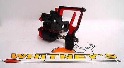 2016 Ripcord ACE Fall Away Arrow Rest - Micro Adjust Left Hand - Red - RCACMR-L