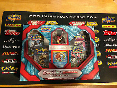 Pokemon TCG XY Shiny Mega Gyarados Collection Box  *New*