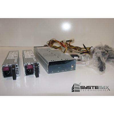 HP 365W Redundant Power Supply Kit with Backplane 532092-B21 !New!