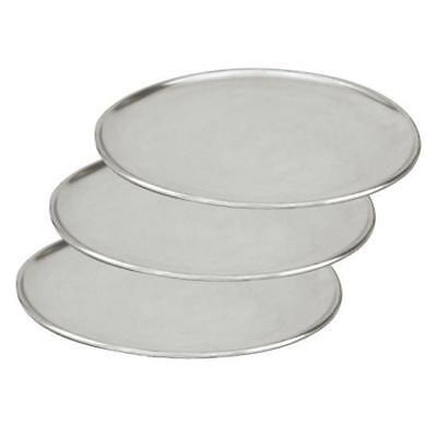 3 x Pizza Tray / Plate / Pan, Aluminium, 150mm / 6 inch, Round, Pizzas