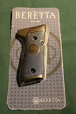 BERETTA FACTORY BLACK PLASTIC CHECKERED GRIPS 92FS 96 full sized Trident