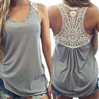 Fashion Casual Women Summer Vest Top Loose Sleeveless Tank Tops T-Shirt Blouse