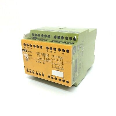 Safety Relay 775830 Pilz PNOZ-2-110VAC-3N/0-1N/C