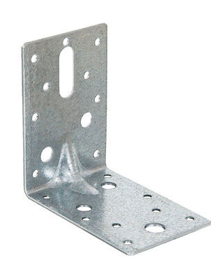 Galvanised Angle Bracket 90x90x60mm Wide - pack of 10
