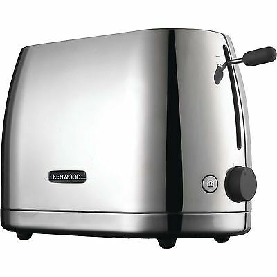 Kenwood TTM550 Two Slot Polished Stainless Steel Toaster
