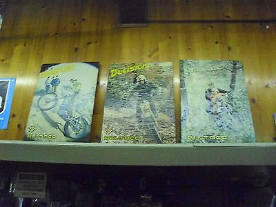3-Vintage, Bultaco Dealer Posters, Circa 1974, Printed In Spain.#