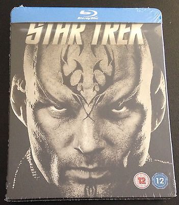 STAR TREK Variant Blu-Ray SteelBook Zavvi UK Exclusive 1/1000 Region Free. Rare!