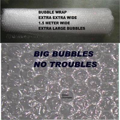 Extra Large Air Bubbles Wrap 1,500 Mm.extra Extra Wide~5 M Long Free Shipping