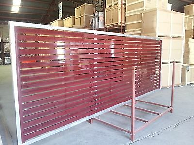 Sliding Gate Aluminium Slats, from $210 per sqm