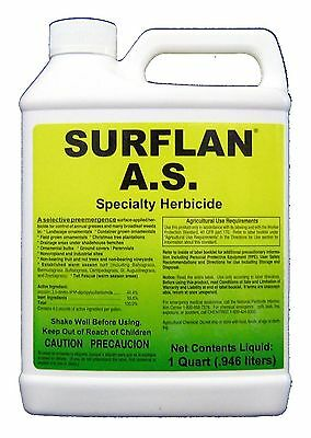 Surflan A.S Specialty PreEmergent Herbicide Oryzalin 40.4% 32oz. Qt. Southern AG