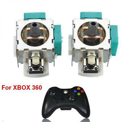 2pcs Wireless 3D Controller Joystick Axis Analog Module Replacement for Xbox 360