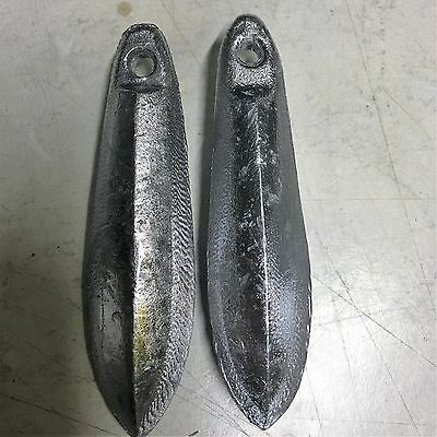 Snapper Reef Lead Fishing Sinkers [4oz x 2]  Other sizes available