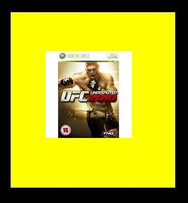 UFC Undisputed: 2010 (Xbox 360) PAL Brand New