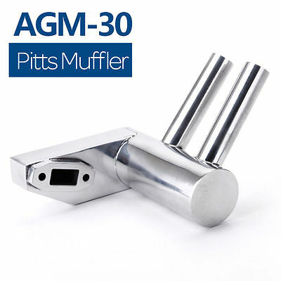 New 26cc-30cc Pitts Muffler Exhaust Silencer for AGM30/DLE30/GP26r UK Stock