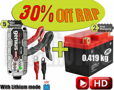Lithium Deal - Battery + charger - KTM EXC-E 300 2T - 2008