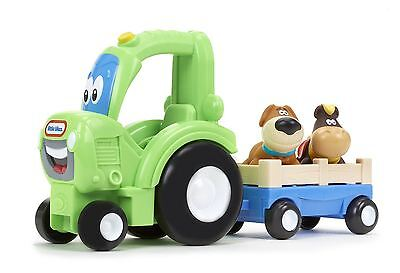 New Little Tikes Handle Haulers Deluxe Frankly Farmer Tractor Toy Playset