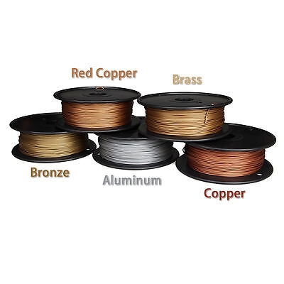 3D Printer metal Filament 1.75mm 3mm METAL+PLA 0.5Kg RepRap MarkerBot 5 Colors